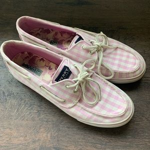 Sperry Purple Pink Loafer Shoes Slip On Sz 10M. B